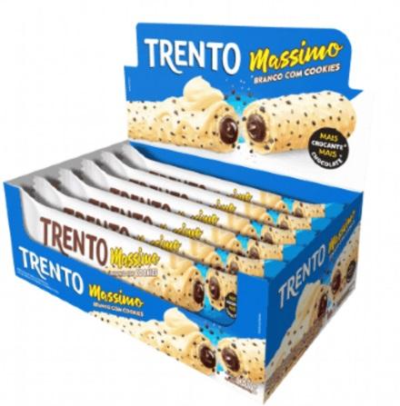 PECCIN - WAFER CHOCOLATE 480G MASSIMO BRA COOKIES