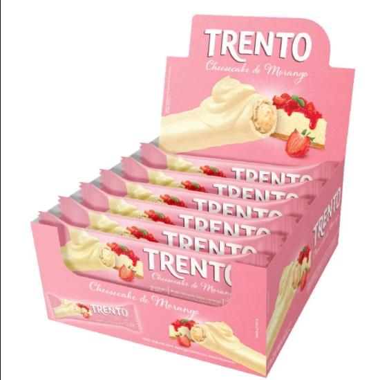 PECCIN - WAFER CHOCOLATE 512G TRENTO CHEESECAKE MO
