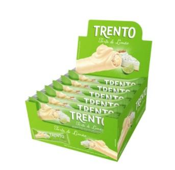 PECCIN - WAFER CHOCOLATE 512G TRENTO TORTA LIMÃO