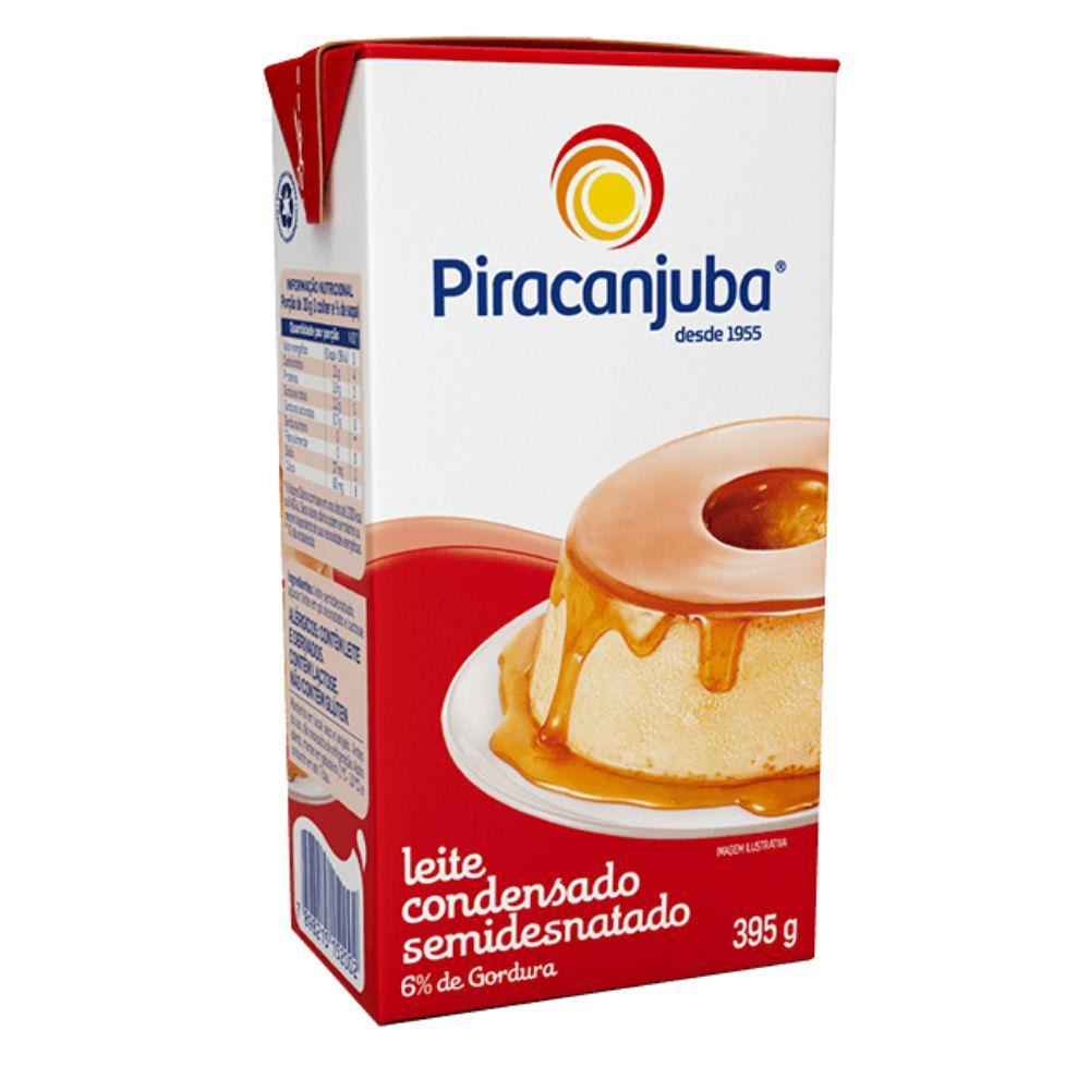 PIRACANJUBA - LEITE CONDENSADO TP 395G