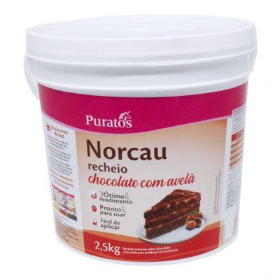 PURATOS - RECHEIO CHOCOLATE COM AVELÃ 2,5KG