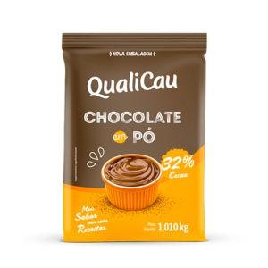 QUALICAU - CHOCOLATE EM PO 32% 1KG