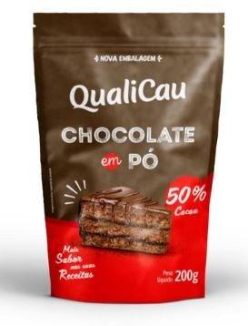 QUALICOCO - CHOCOLATE EM PO 50% 200G