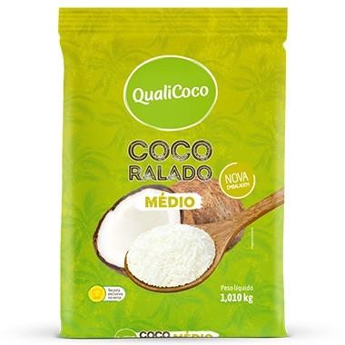 QUALICOCO - COCO RALADO 1KG MEDIO