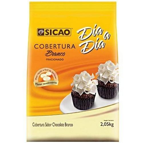 SICAO - COBERTURA DIA-A-DIA GOTA 2,05KG BRANCA