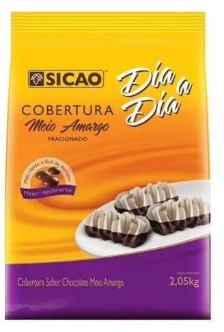SICAO - COBERTURA DIA-A-DIA GOTA 2,05KG M AMARGO