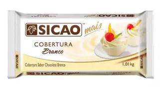 SICAO - COBERTURA MAIS BARRA 1,01KG BRANCO