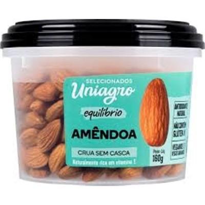 UNIAGRO - AMENDOA CRUA PT160G
