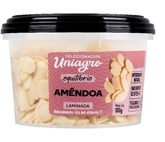 UNIAGRO - AMENDOAS LAMINADAS PT110g