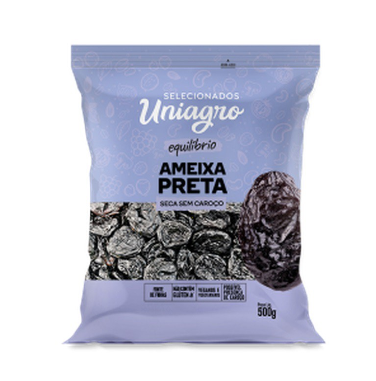 UNIAGRO - UVA PASSA PRETA SC500G