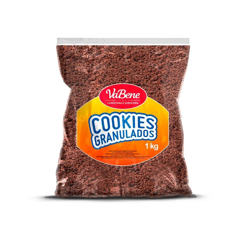 VABENE - COOKIES GRANULADOS SABOR CHOCOLATE 1KG