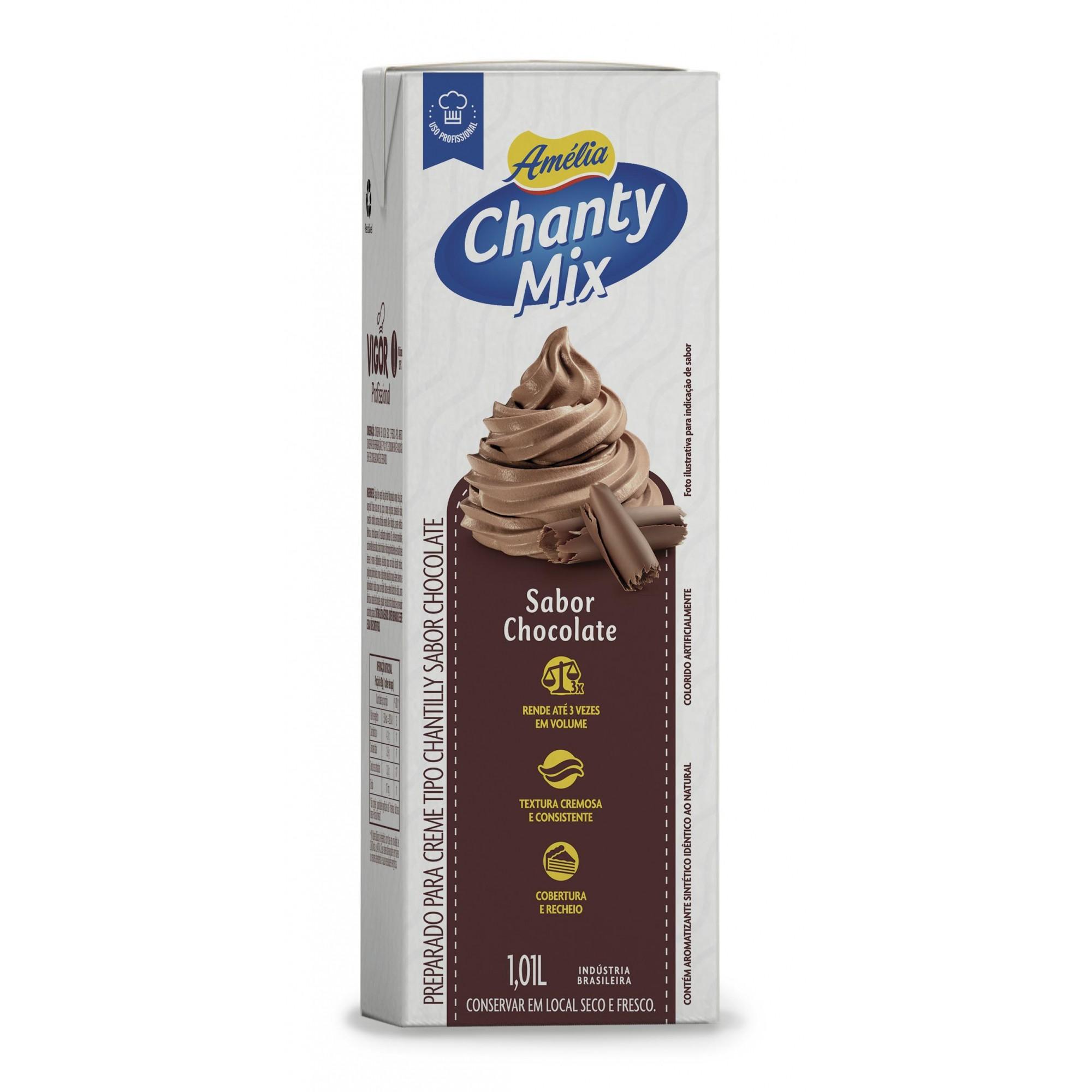 VIGOR - CHANTILLY AMELIA 1KG CHOCO MIX