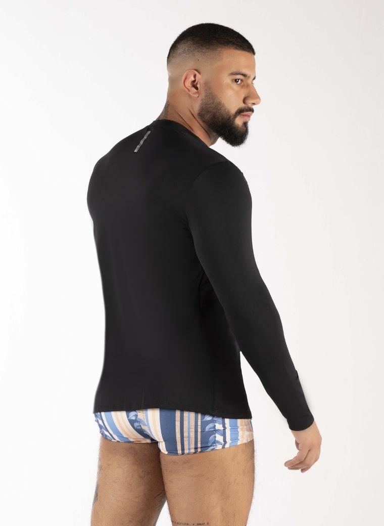 Blusa UV masculino lisa