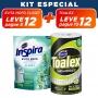 KIT Evita Closet Alecrim + Pano Multiuso Toalex Roll - 10% OFF