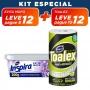 KIT Evita Mofo Lavanda 100g + Pano Multiuso Toalex Roll - 10% OFF