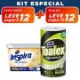 KIT Evita Mofo Natural 230g + Pano Multiuso Toalex Roll - 10% OFF