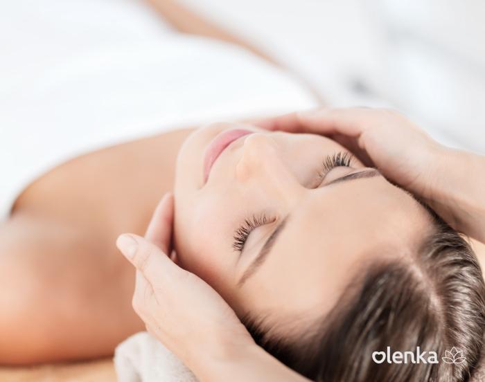 Drenagem linfática facial   - Grupo Olenka