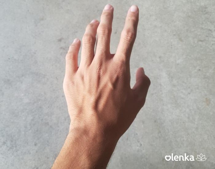 Mãos masculina 6 sessões