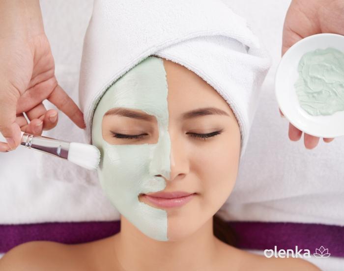 Massagem Lifting facial com máscara  - Grupo Olenka