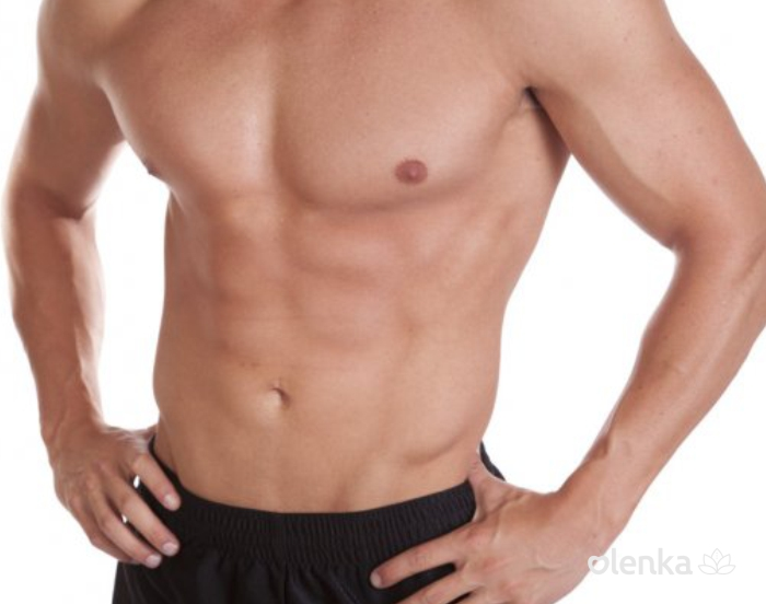 Peito masculino + abdômen 6 sessões  - Grupo Olenka