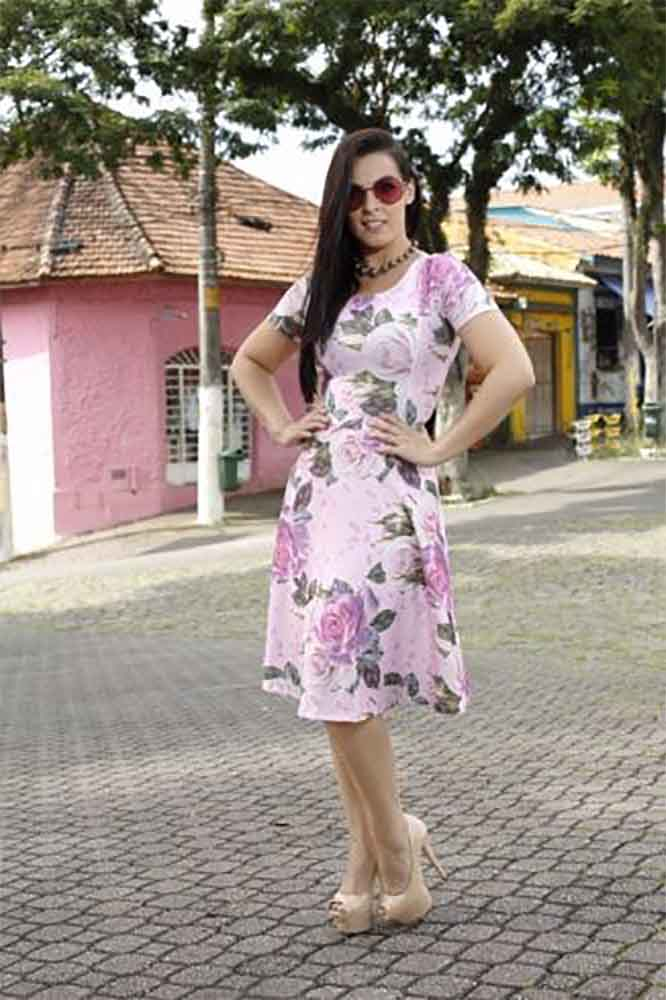 vestido gode floral