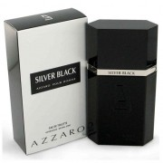 Perfume Silver Black Azzaro Eau de Toilette Masculino 100 ml