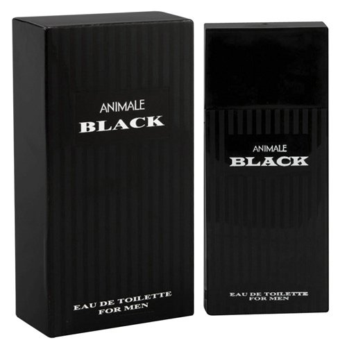 Perfume Animale Black For Men Eau de Toilette Masculino 50 ml