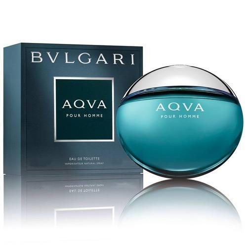 Perfume Aqva Pour Homme Bvlgari Eau de Toilette Masculino 100 ml