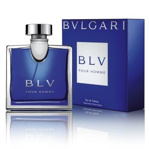 Perfume Bvlgari BLV Pour Homme Eau de Toilette Masculino 100 ml