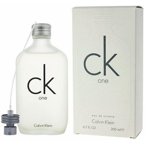 Perfume CK One Calvin Klein Eau de Toilette Unissex 200 ml