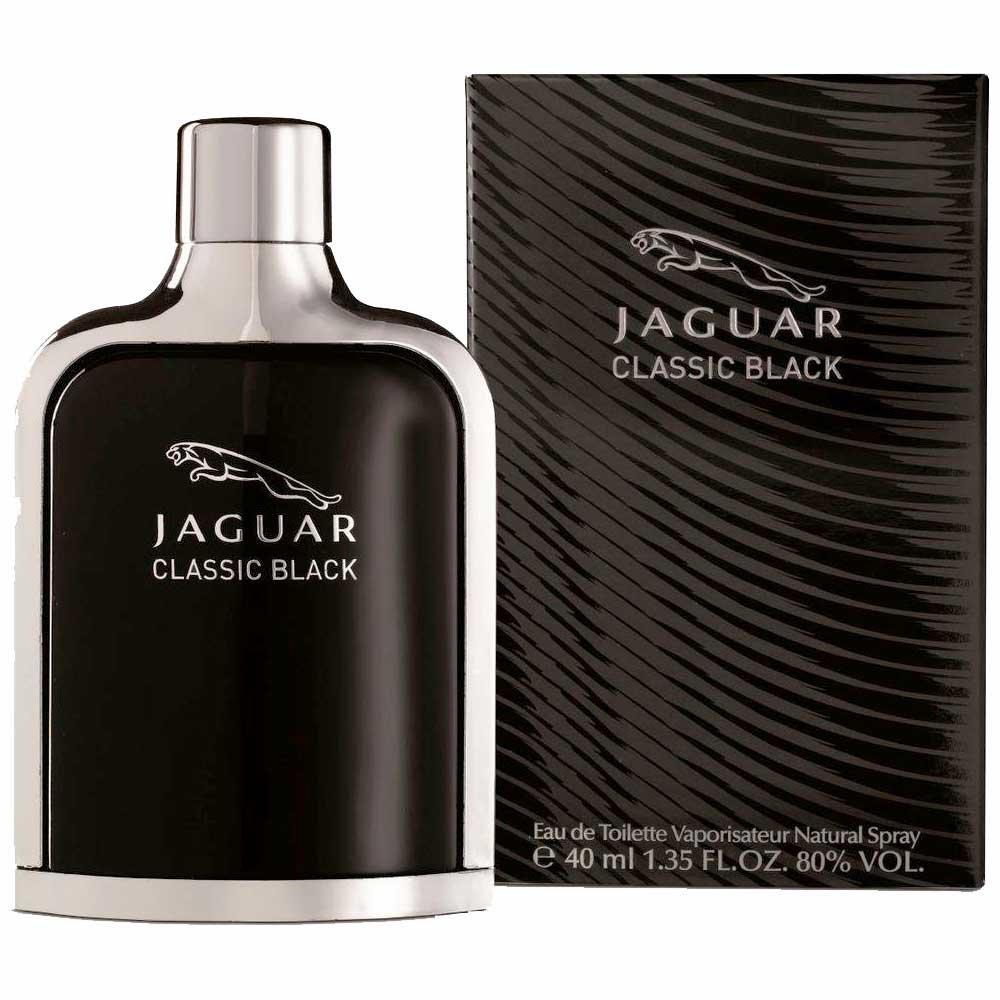 Perfume Classic Black de Jaguar Eau de Toilette Masculino 40 ml