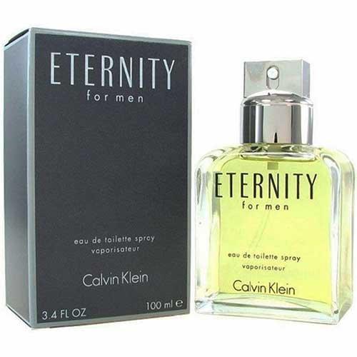 Perfume Eternity for Men Calvin Klein Eau de Toilette Masculino 100 ml