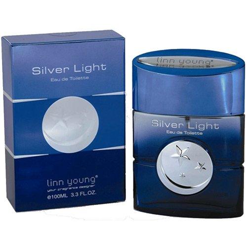 Perfume Silver Light Man Linn Young Eau de Eau de Toilette Masculino 100 ml
