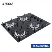 Fogão Cooktop Tramontina 4 Bocas