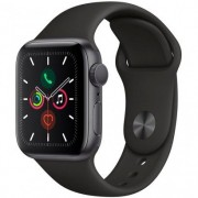 Apple Watch Series 5 40mm Alumínio Cinza Espacial Sport Band 40mm