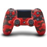 Controle do PS4 Vermelho Camuflado