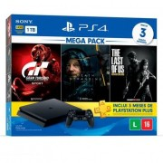 PlayStation 4 Slim HDR 1TB Mega Pack