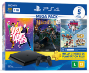 PlayStation 4 Slim HDR 1TB Mega Pack v5