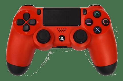 Controle do PS4 Vermelho