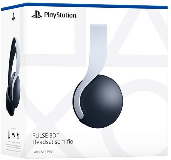 Headset Gamer Sony Pulse 3D para PS5
