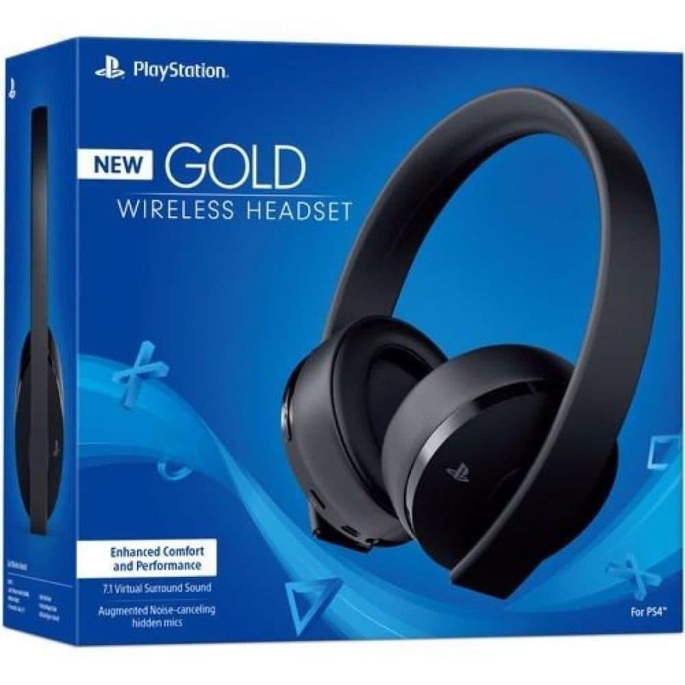 Headset New Gold Wireless 7.1