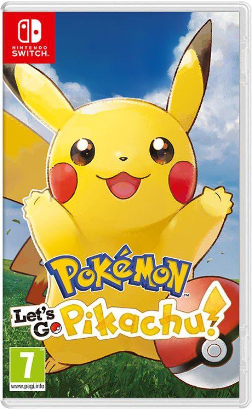 Jogo Pokémon: Lets Go, Pikachu! - Switch