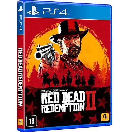 Jogo Red Dead Redemption 2 - PS4
