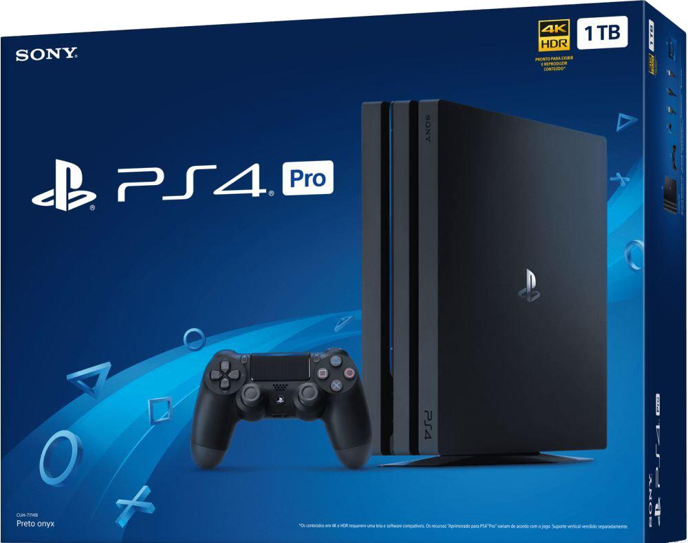PlayStation 4 PRO 4K HDR 1TB