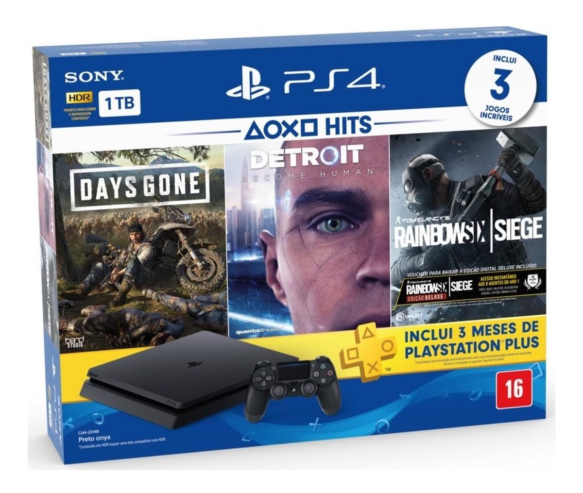 PlayStation 4 Slim HDR 1TB Hits Bundle