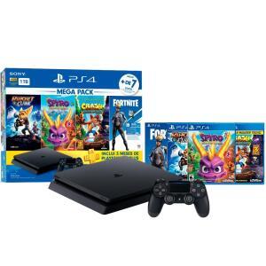 PlayStation 4 Slim HDR 1TB Mega Pack v8