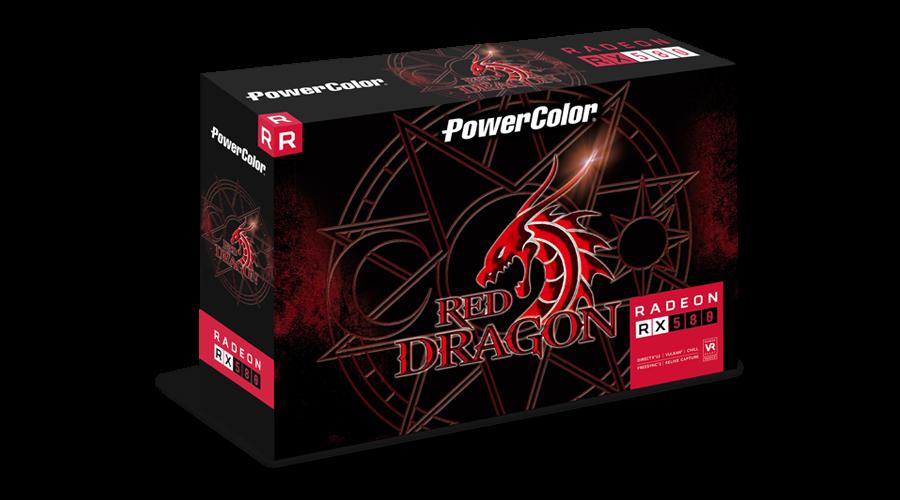Powercolor / AXRX 580 8GBD5 DHDV2/OC