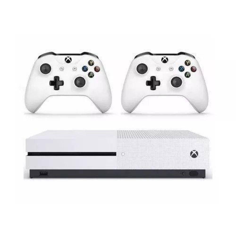 Xbox One S 1TB 4K HDR com 2 Controles
