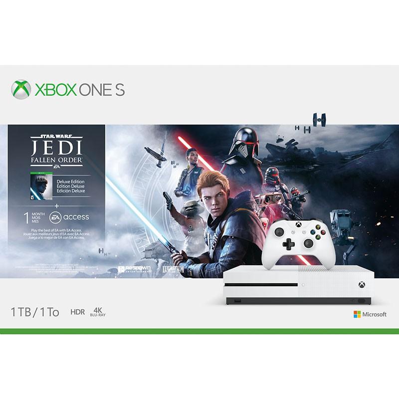 Xbox One S 1TB 4K HDR + Star Wars