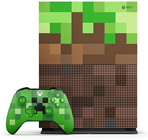Xbox One S 1TB Edição limitada de minecraft